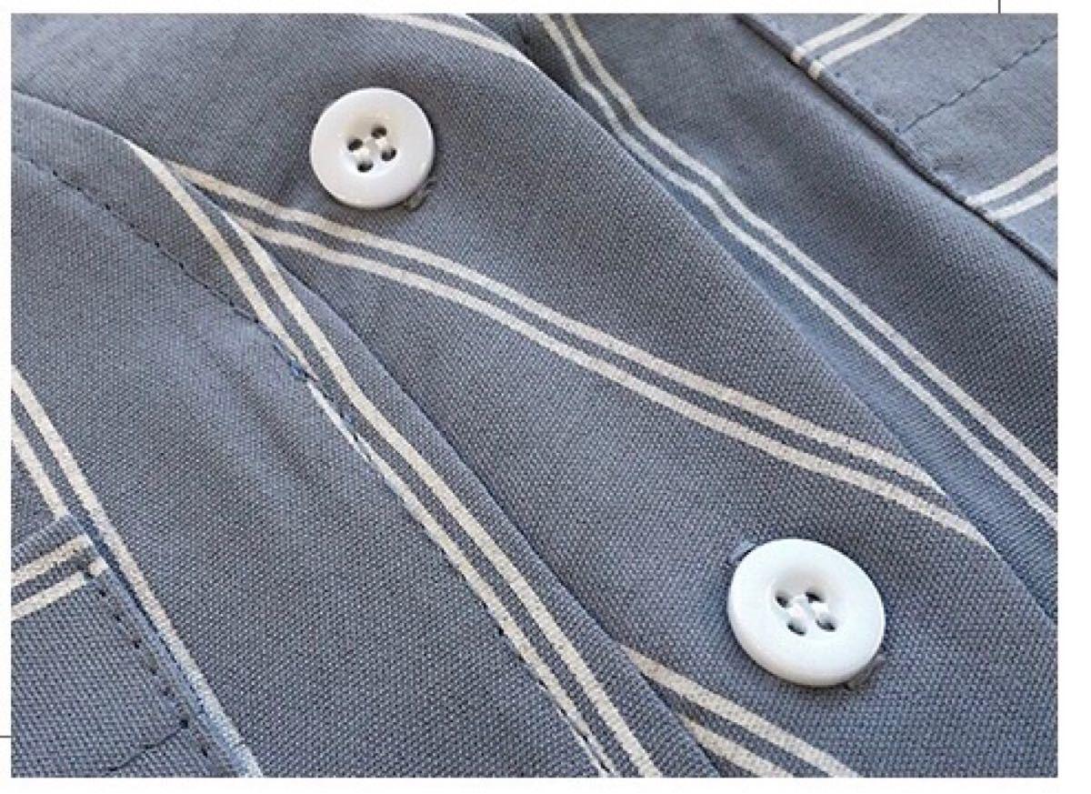 シャツ ルーズシャツ ノースリーブシャツ キレイめシャツ グレーシャツ Vネック