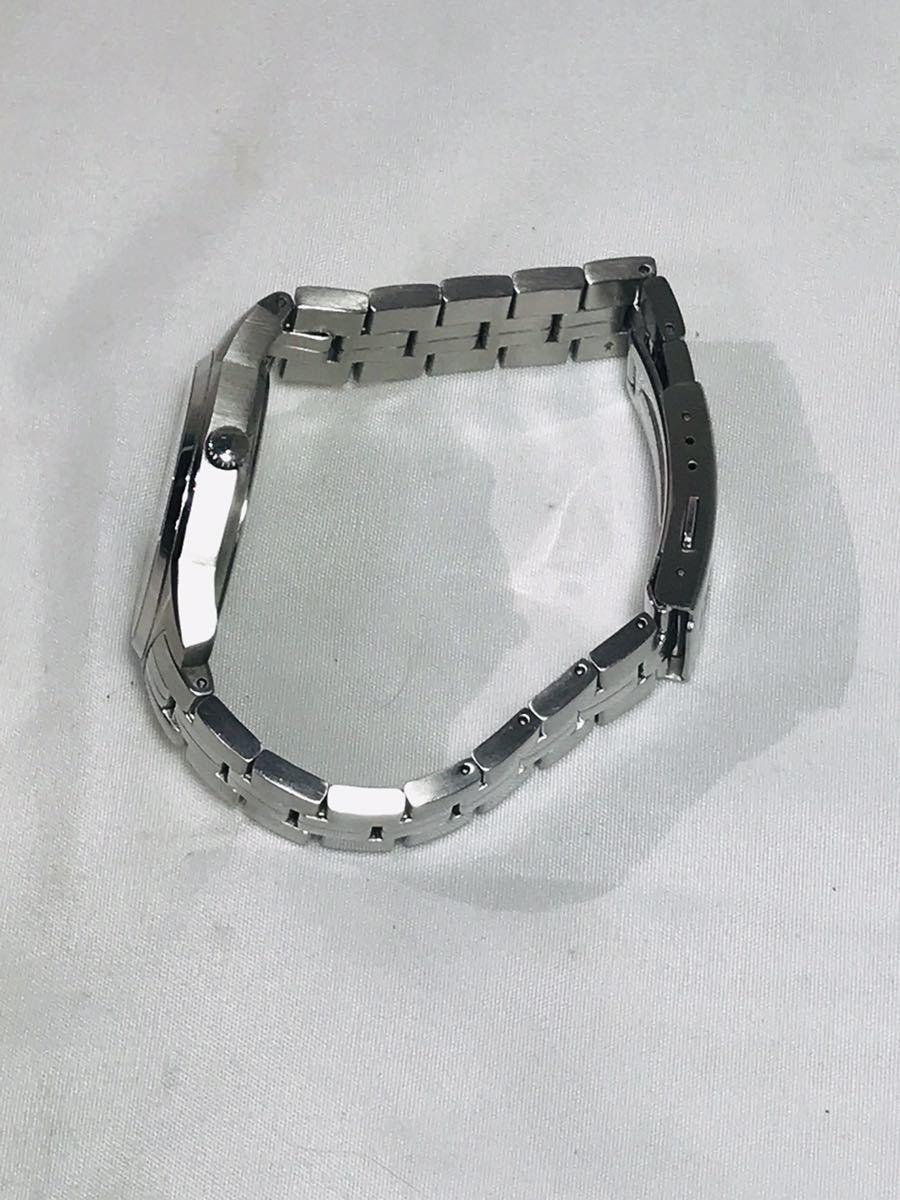 ☆TISSOT 1853 ティソ PR100 腕時計 アナログ デイト クオーツ シルバー メンズ ブランド ZJZ01ZZH42_画像3
