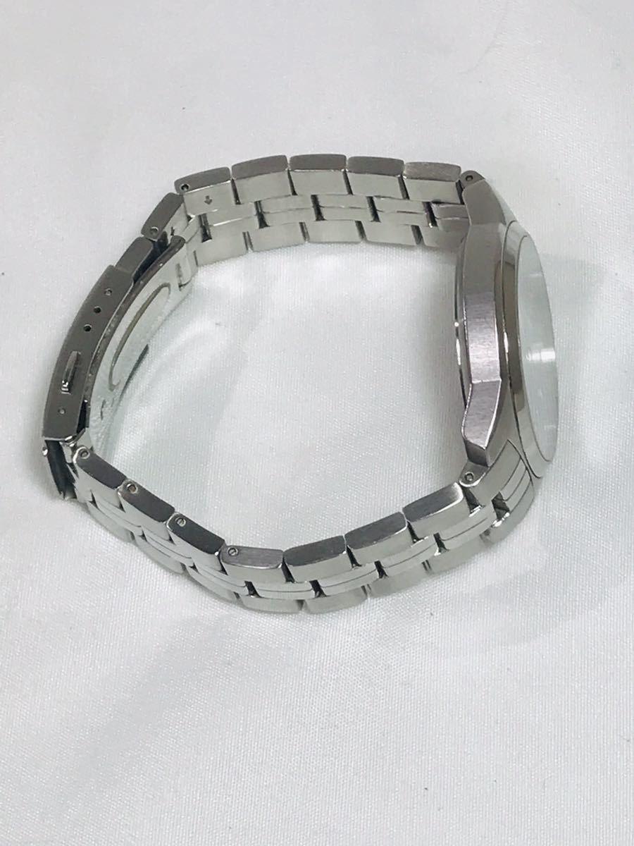 ☆TISSOT 1853 ティソ PR100 腕時計 アナログ デイト クオーツ シルバー メンズ ブランド ZJZ01ZZH42_画像4