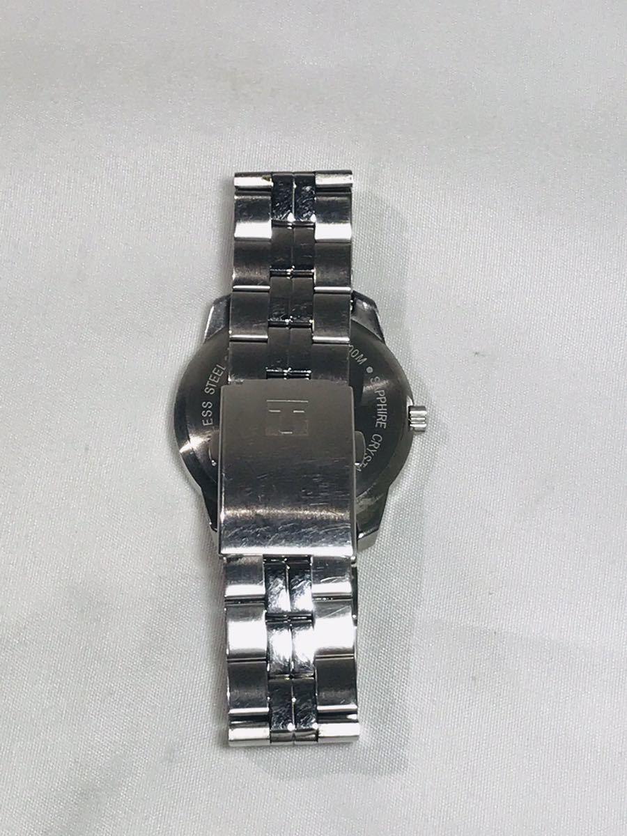 ☆TISSOT 1853 ティソ PR100 腕時計 アナログ デイト クオーツ シルバー メンズ ブランド ZJZ01ZZH42_画像5