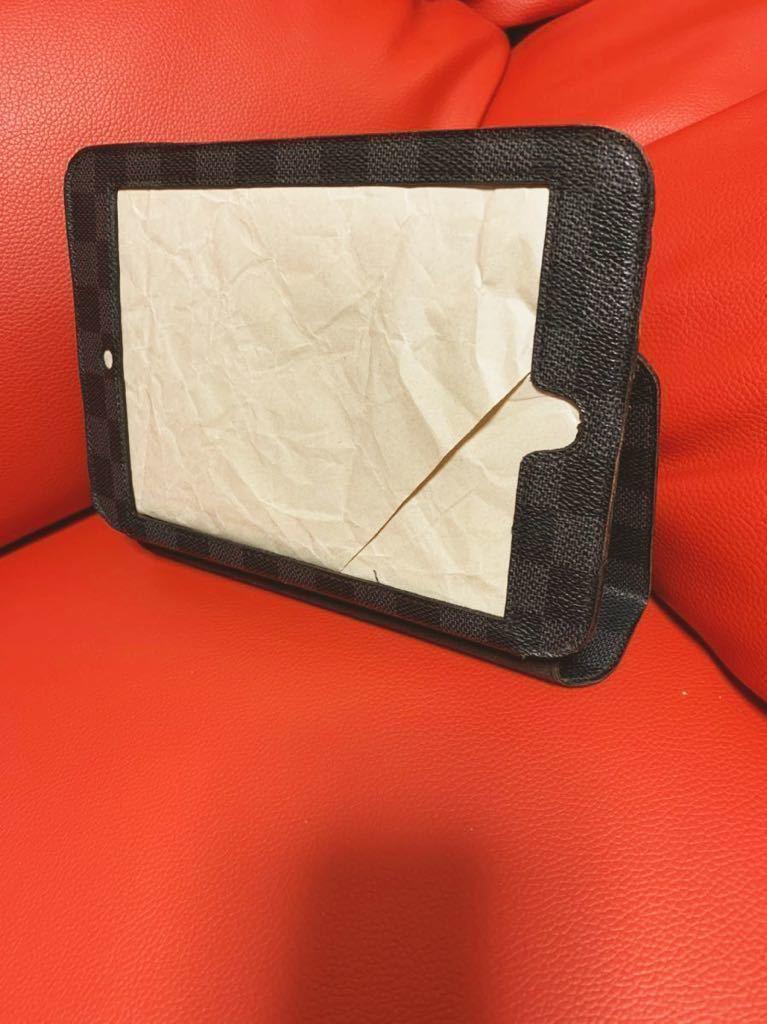 【LOUIS VUITTON】ルイヴィトンipad mini iPadケース ダミエ グラフィット  【中古】画像のみの出品です