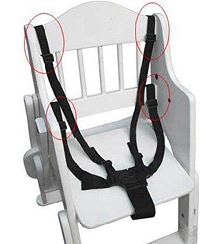 ★送料無料★ベビー 椅子 ベルト 調整できるチェアベルト 子供椅子 ベビーカー バギーシート安全な固定ベルト ストラップ ハーネス_画像7