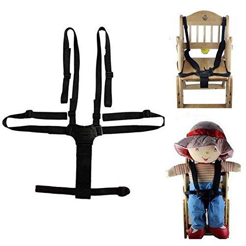 ★送料無料★ベビー 椅子 ベルト 調整できるチェアベルト 子供椅子 ベビーカー バギーシート安全な固定ベルト ストラップ ハーネス_画像1