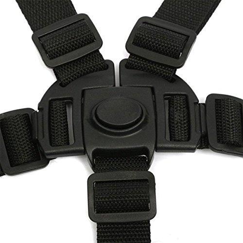 ★送料無料★ベビー 椅子 ベルト 調整できるチェアベルト 子供椅子 ベビーカー バギーシート安全な固定ベルト ストラップ ハーネス_画像3