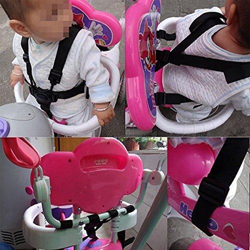 ★送料無料★ベビー 椅子 ベルト 調整できるチェアベルト 子供椅子 ベビーカー バギーシート安全な固定ベルト ストラップ ハーネス_画像5