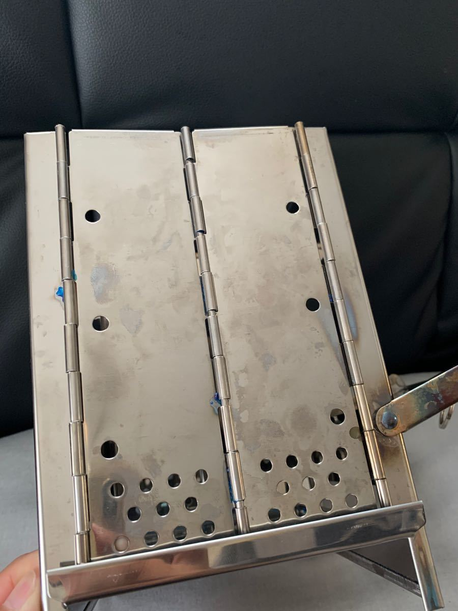 バーベキューコンロ  焚火台 折り畳み式