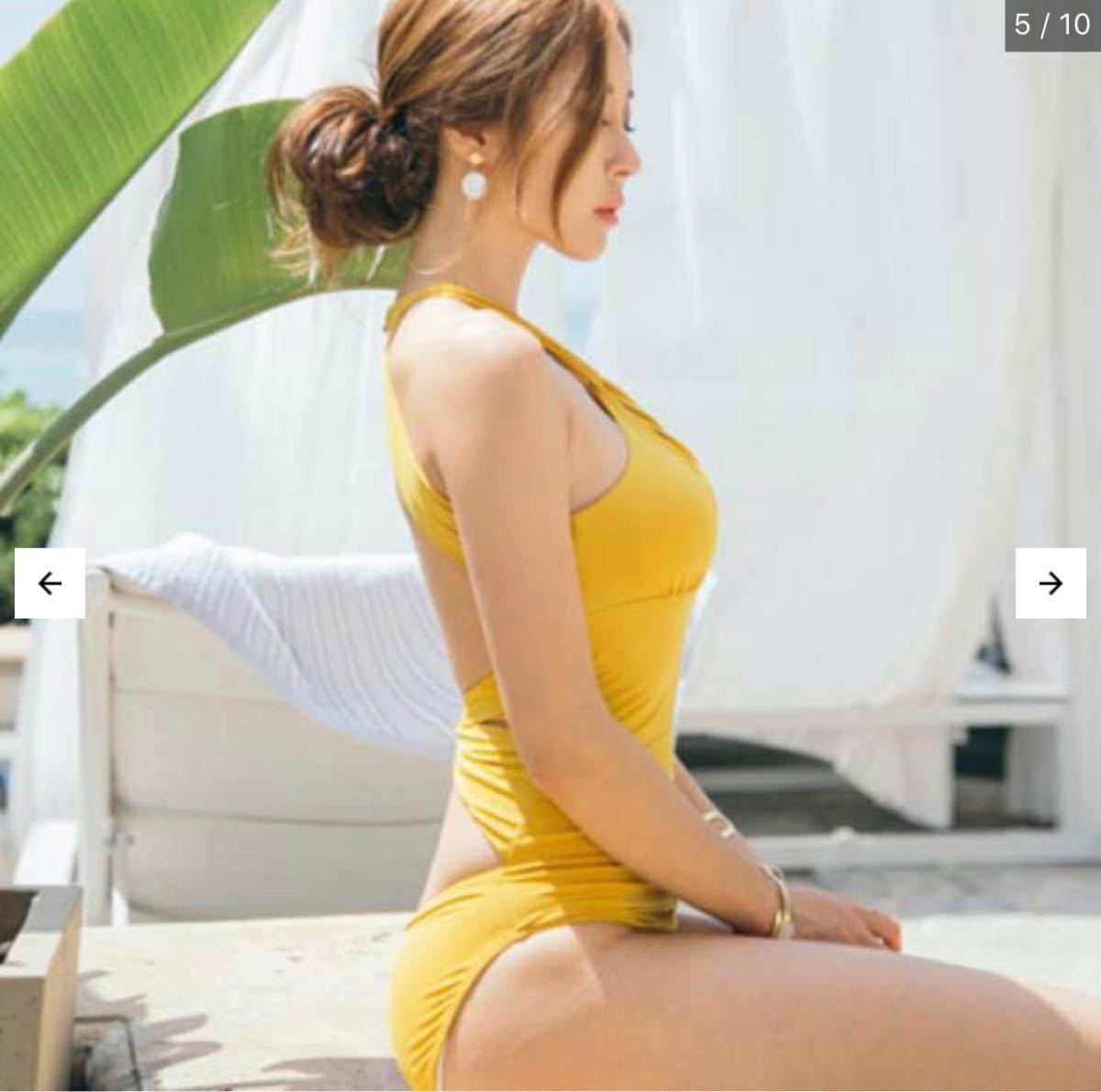 ホルターネック バックオープン セクシー モノキニ