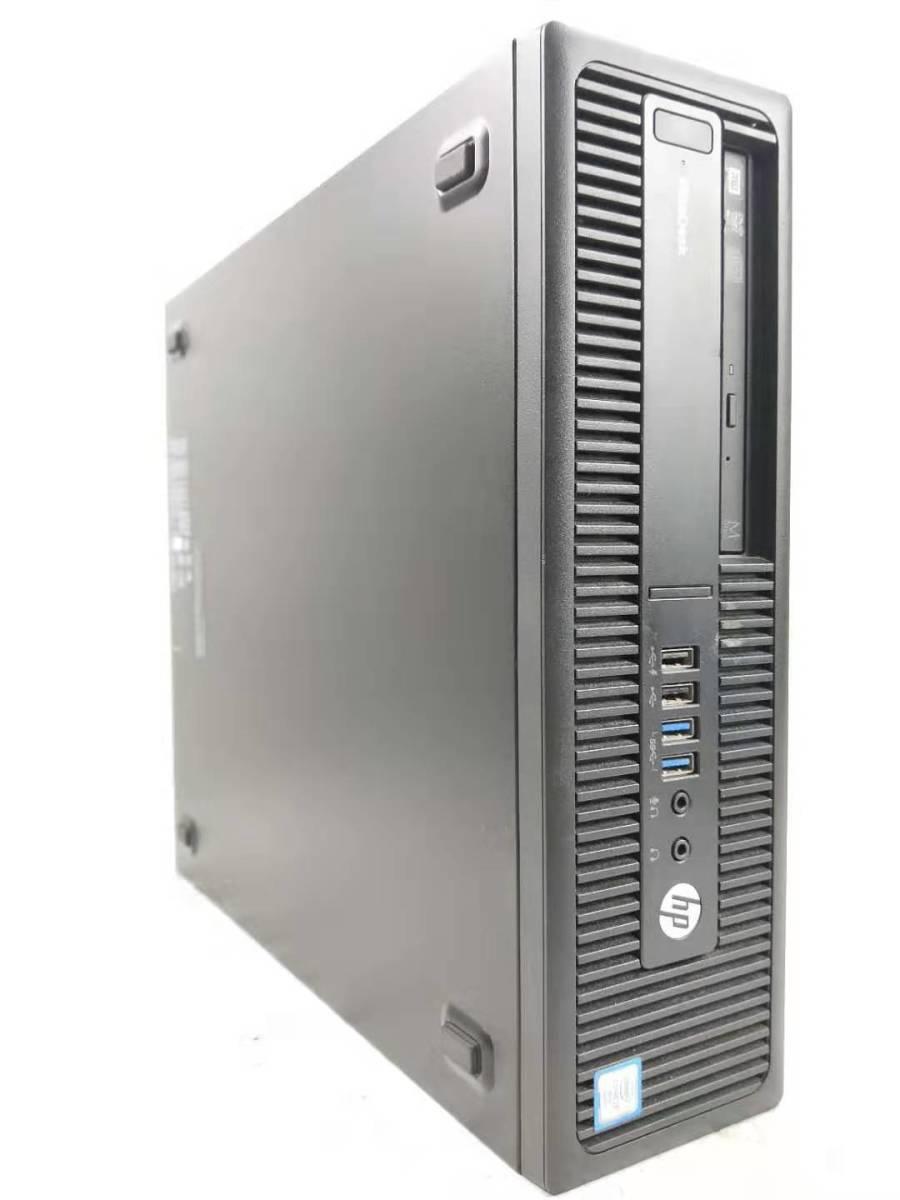 ■驚速 究極PC HP i7-6700 4.0GHz x8/メモリ32GB■新SSD:960GB+大容量HDD:3000GB Win10 Pro Ms Office2019 USB3.0/追加 無線■800 SFF.G2-3_画像2