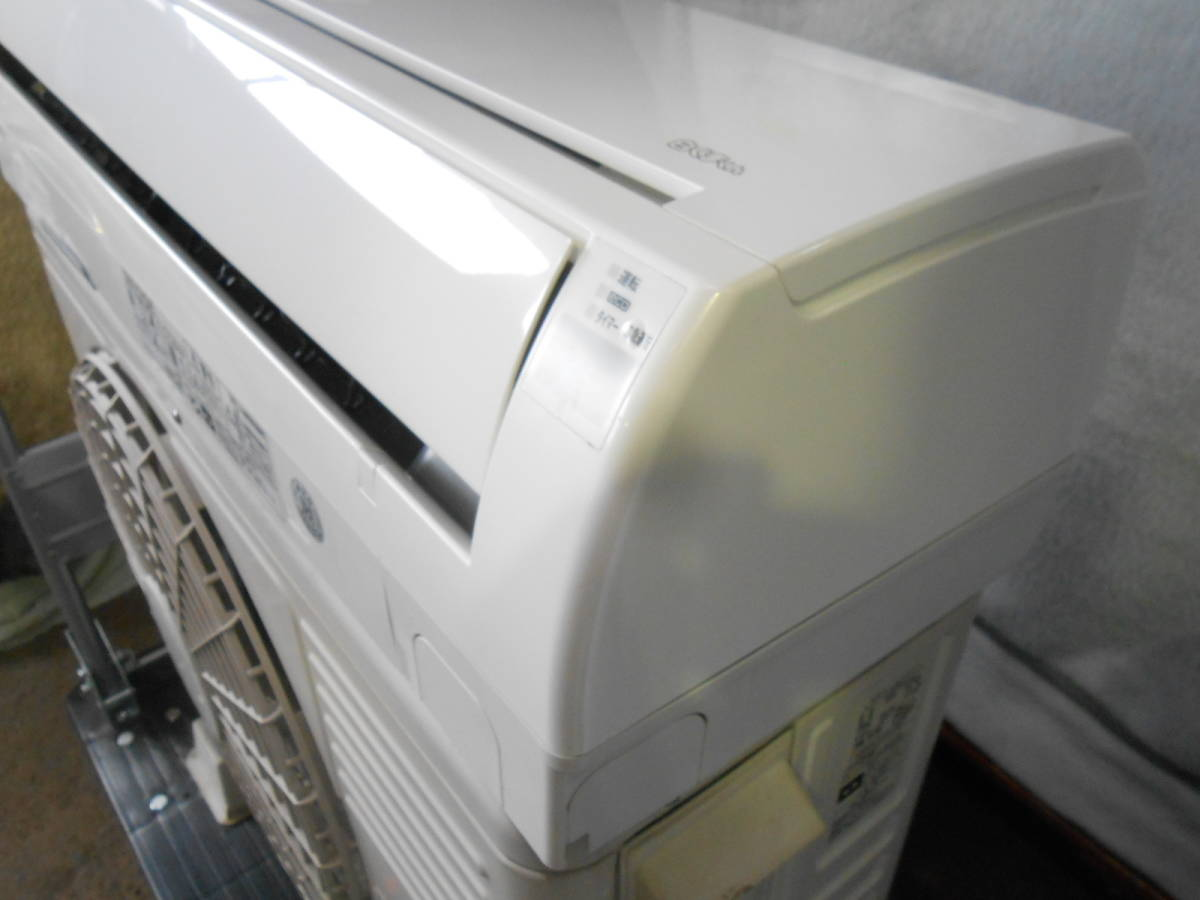 ★日立  ルームエアコン~12畳 主に10畳 白くまくん  RAS-DT28C 2014年製 訳あり商品_画像8