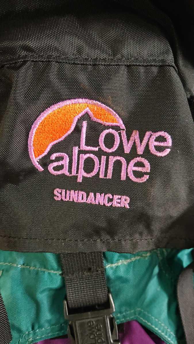 ロウアルパイン Lowe alpine SUNDANCER 登山 アウトドア リュックサック バックパック ザック