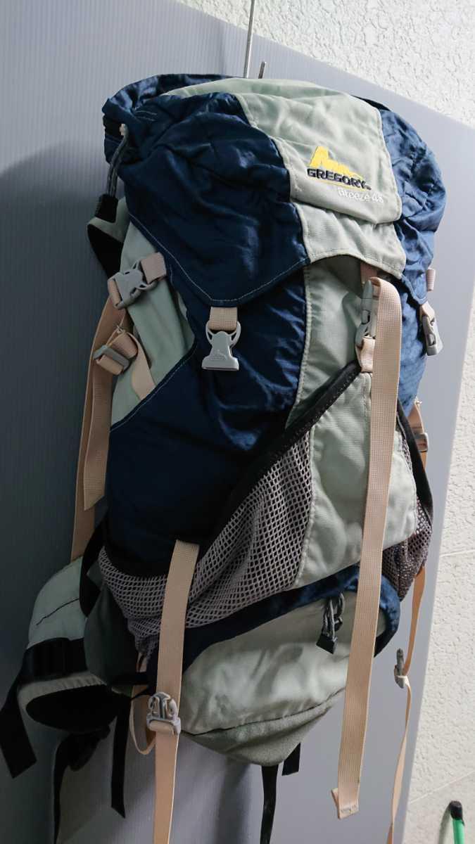 GREGORY グレゴリー Breeze 45 ブリーズ45 バックパック ディバック 登山 ハイキング