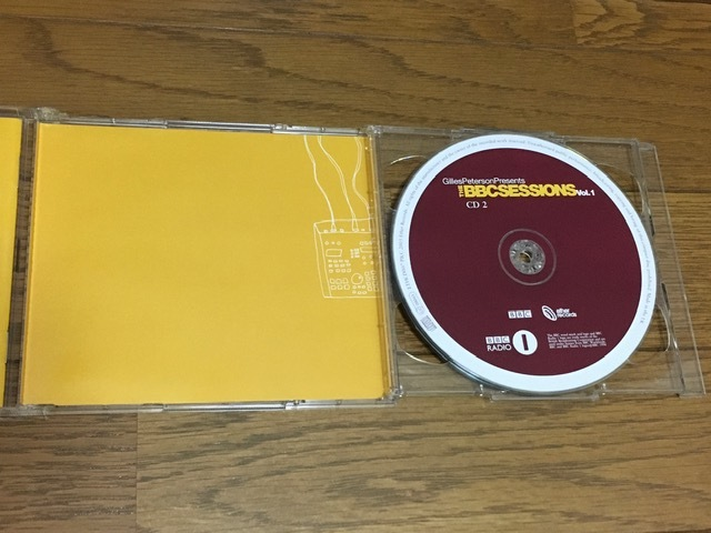 GILLES PETERSON Presents THE BBC SESSIONS Vol.1 コンピレーション2CD 名盤 輸入盤 廃盤 Beck BJORK Common ZERO 7 N.E.R.D The Roots_画像6