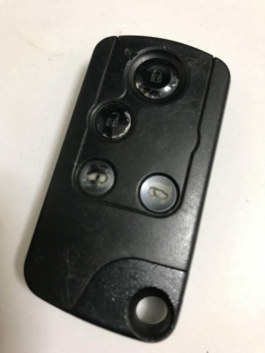 72147-SJK-N21 ホンダ HONDA エリシオン 純正 RR1 スマートキー キーレス リモコン 4ボタン 両側パワースライドドア 200904_画像1