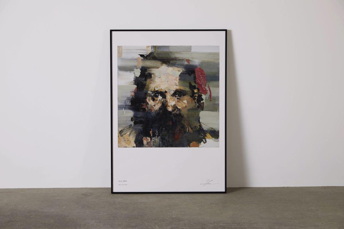 ◆井田幸昌 ポートレート ≪Bob≫ ポスター◆IDA YUKIMASA Portrait Poster 新品未開封_画像2