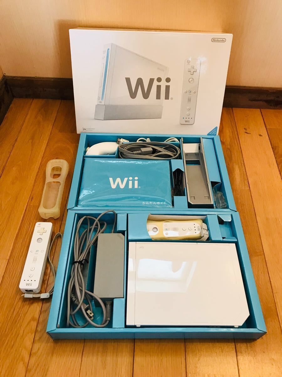 wii 本体+ソフト6枚+バランスwiiボード