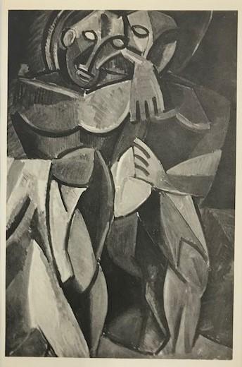 【特価】 ≪  パブロ・ピカソ  ≫  コロタイプ版画  CONPOSITION  1930年   PABLO PICASSO