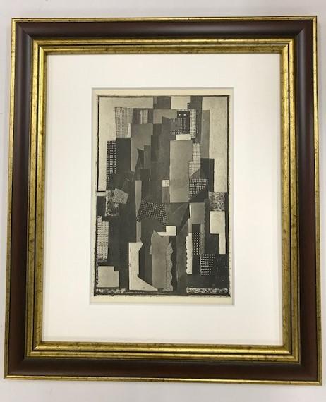 【特価】 ≪  パブロ・ピカソ  ≫  コロタイプ版画  MAN IN A GARDEN  1930年   PABLO PICASSO