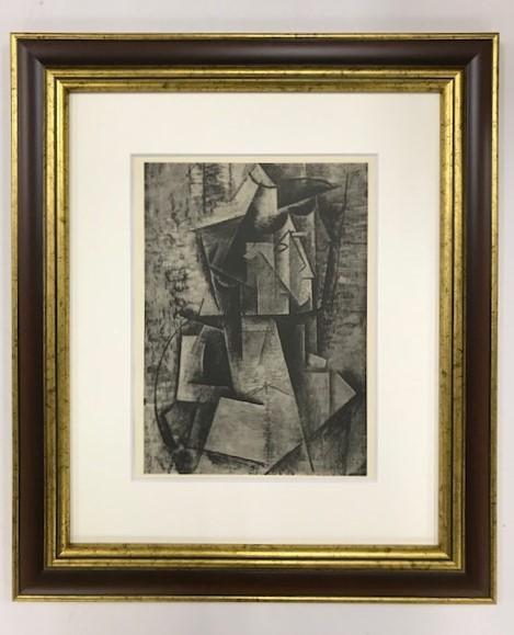 【特価】 ≪  パブロ・ピカソ  ≫  コロタイプ版画  THE WOMEN OF ARLES  1930年   PABLO PICASSO