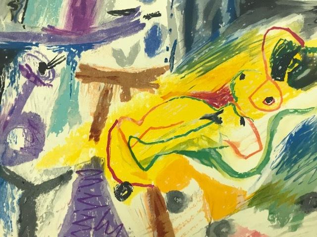 【特価】 ≪  パブロ・ピカソ  ≫  オリジナルリトグラフ【石版画】  LE PEINTRE ET SON MODELE  1963年  PABLO PICASSO