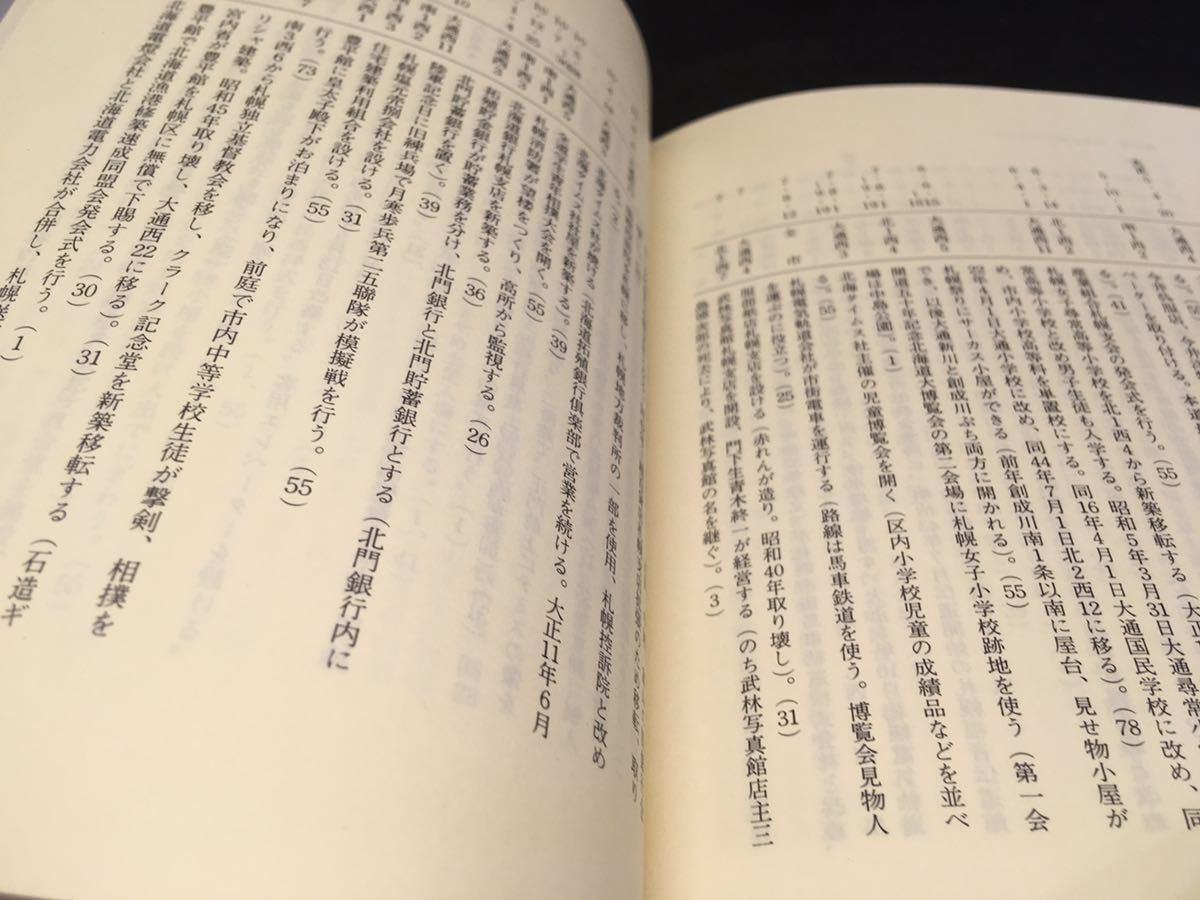 さっぽろ文庫32 大通公園 札幌市教育委員会編 大通イベント紹介 北海道新聞社 A3.200728_画像10