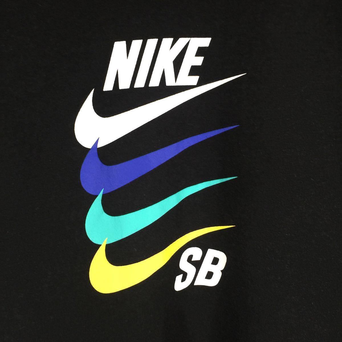 NIKE ナイキ 半袖Tシャツ 4連ロゴ スウッシュ XXL 送料無料