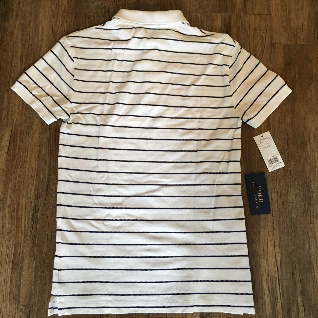 ポロラルフローレン スリムフィット ポロシャツ