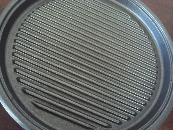 C339★TIGER タイガー ホットプレート これ1台 CPJ-Y130 焼肉 たこ焼き お好み焼き 3way 丸型 波型 平面 たこ焼き プレート 中古品_画像3