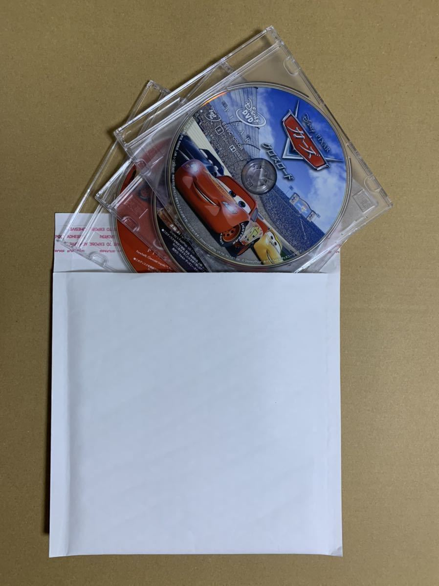 C24 カーズ 1 2 3 (クロスロード) DVDセット 新品 未再生 正規品 ディズニー MovieNEX Disney DVDのみ (純正ケース/Blu-ray/Magicコード無)