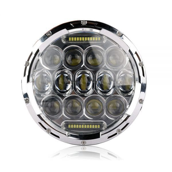 YF1150 新品★7インチ LEDヘッドライト 13プロジェクター HD zeep ジムニー ランクル ローバーミニ JA キャリー パジェロ 全2色_画像6