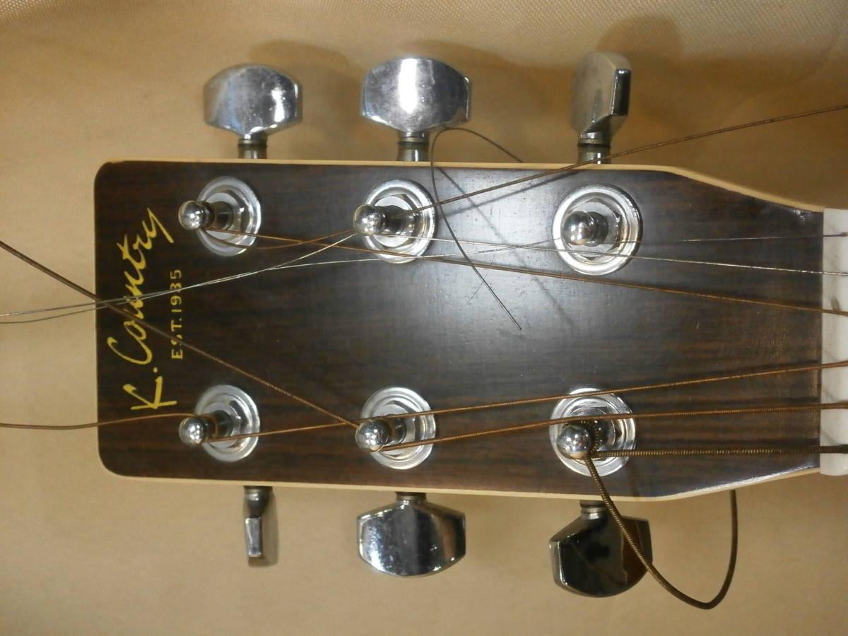 【中古】KASUGA K.Country EST.1935 D-350 K-カントリー アコーステックギター _画像3
