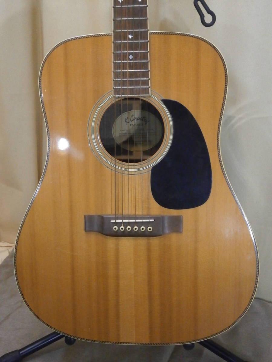 【中古】KASUGA K.Country EST.1935 D-350 K-カントリー アコーステックギター _画像2