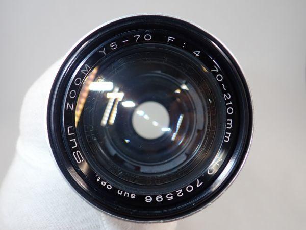 キャノン Canon A-1 Sun ZOOM YS-70 70-210mm f4_画像7