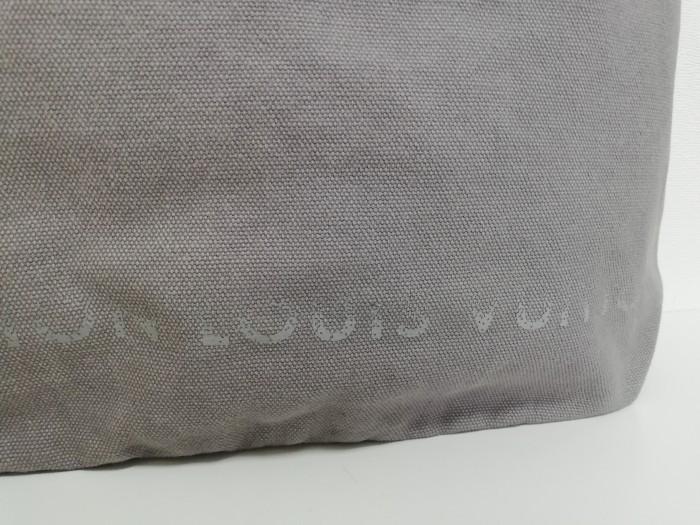 S1743●送料198円~ ルイヴィトン LOUIS VUITTON フォンダシオン トートバッグ 美術館 限定 グレー系_画像4