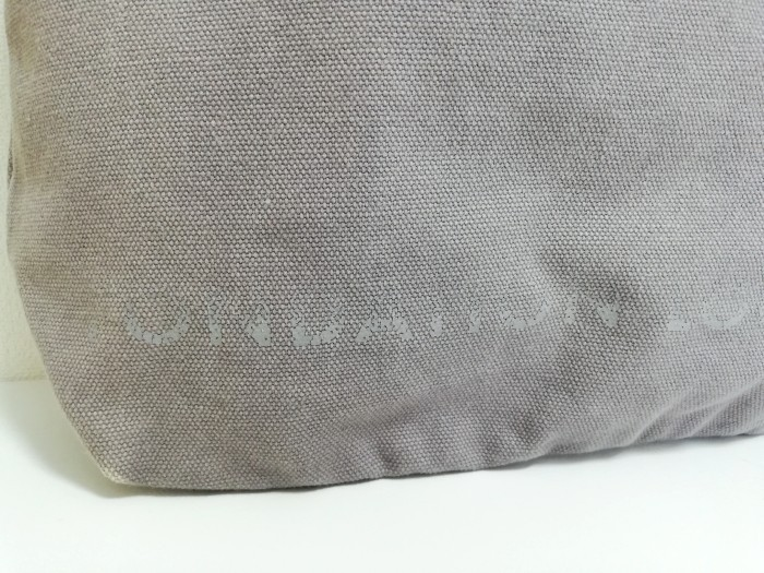 S1743●送料198円~ ルイヴィトン LOUIS VUITTON フォンダシオン トートバッグ 美術館 限定 グレー系_画像3
