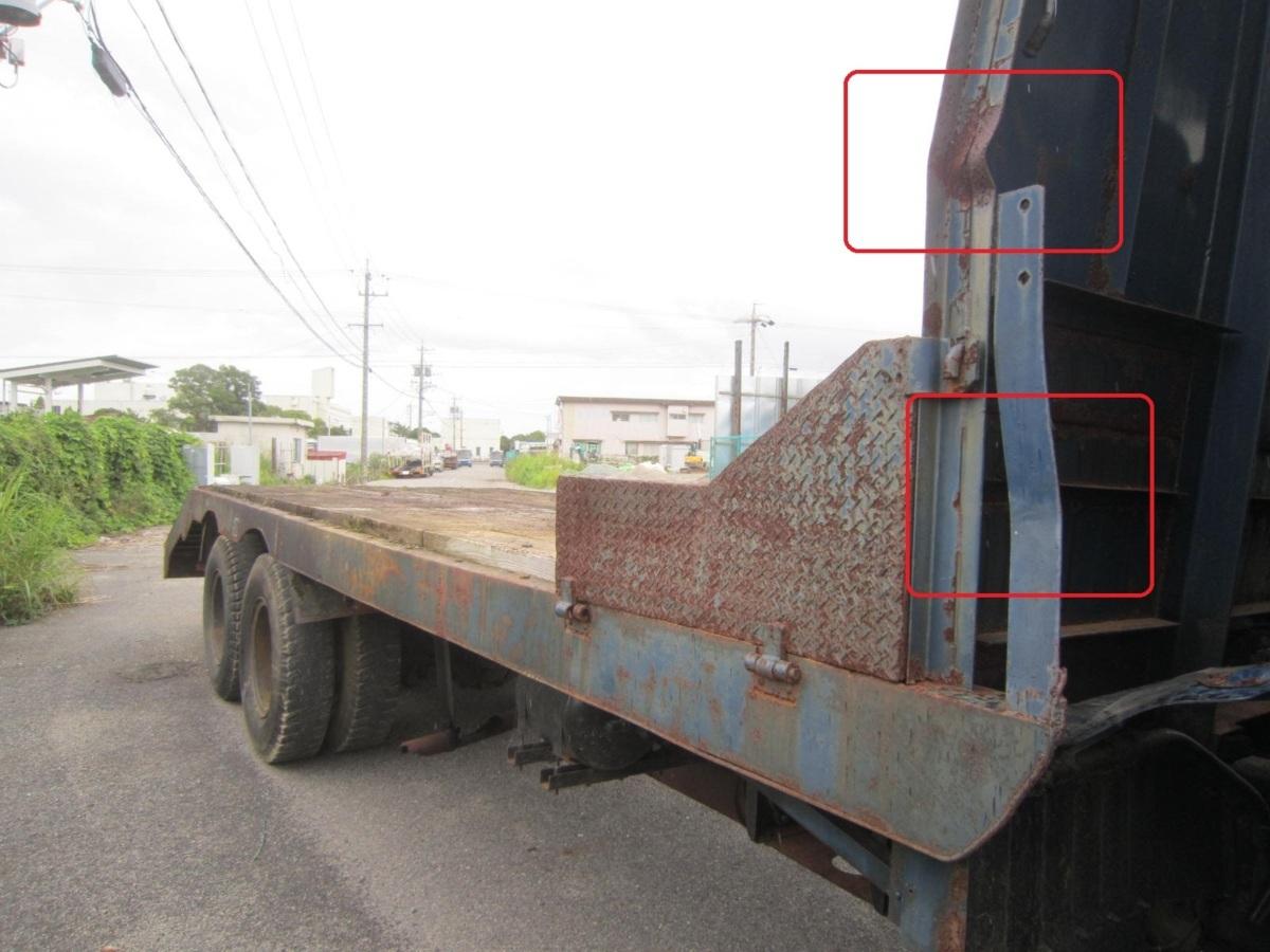 203270 運搬車 積載車 荷台 大型車用 長さ 7670mm 幅約 2437mm_画像4