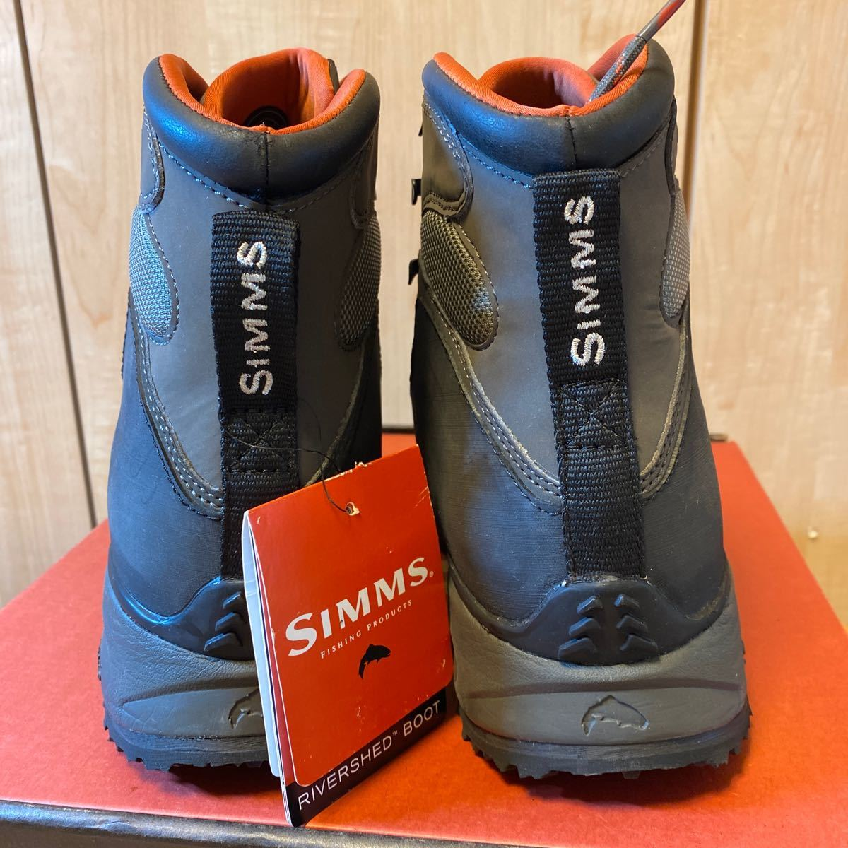 Simms Rivershed Boots size 9 シムス リバーシェッド・ブーツ_画像8