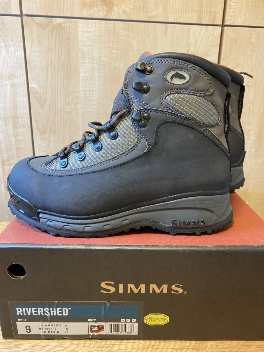 Simms Rivershed Boots size 9 シムス リバーシェッド・ブーツ_画像2