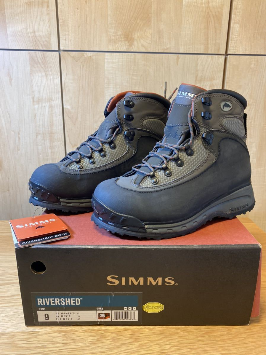 Simms Rivershed Boots size 9 シムス リバーシェッド・ブーツ_画像1