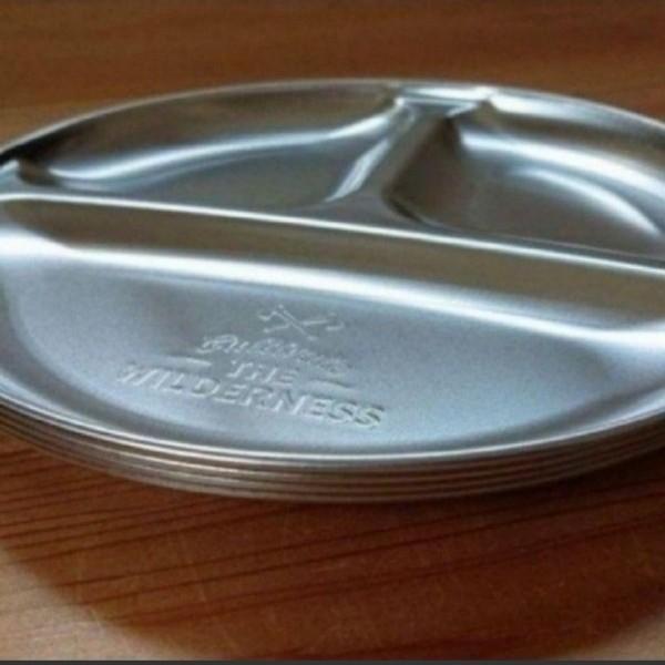 ステンレス プレート皿 4枚