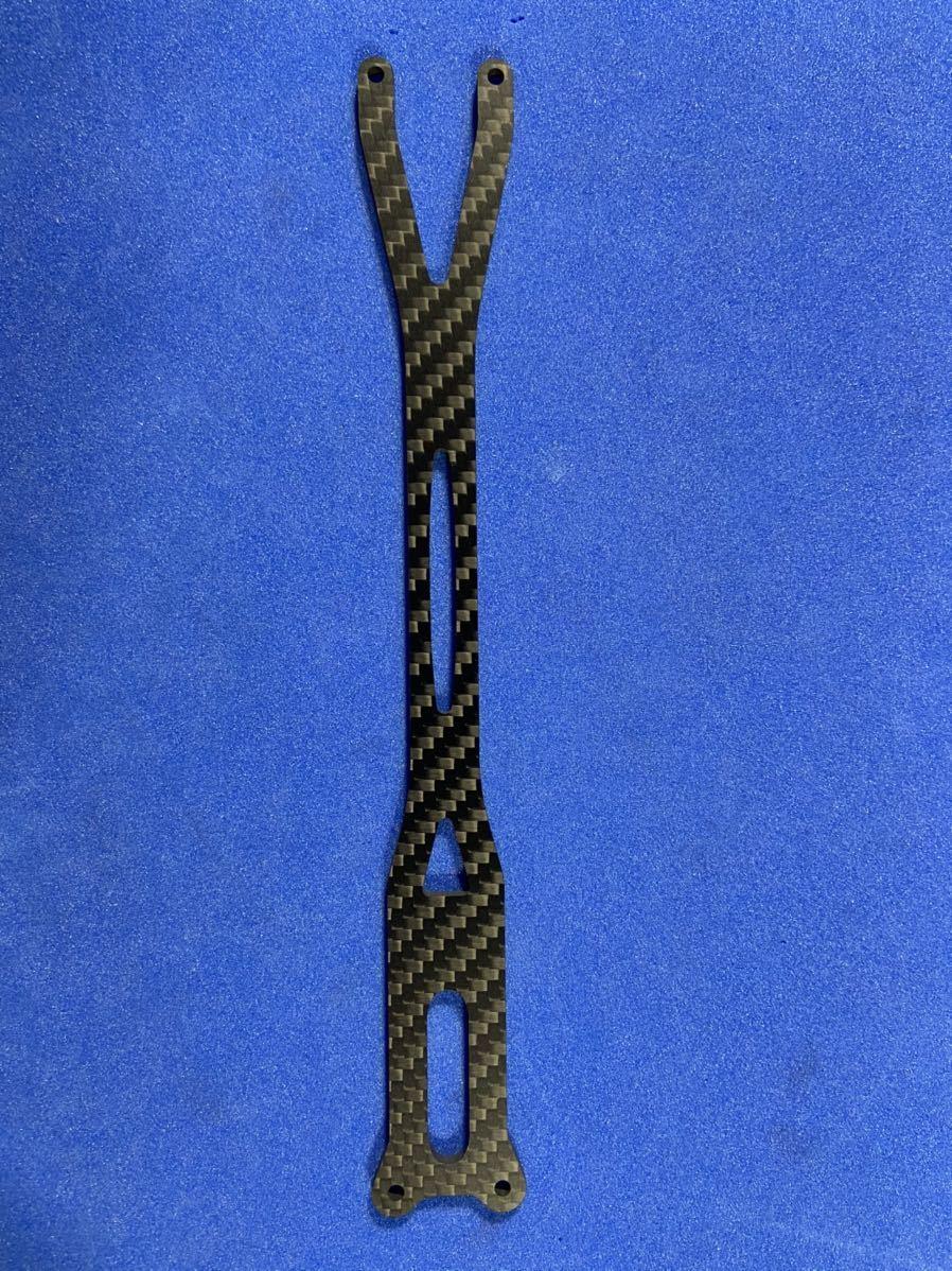 ヨコモYD-2RR用 板厚2.5㎜ 一体型アッパーデッキワイパー式ステアリング用 蕨山Carbon