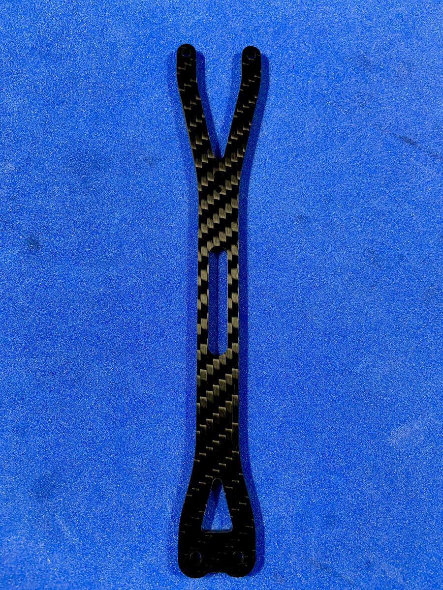 ヨコモYD-2 アッパーデッキ シリーズ共通 特注綾織2.5㎜艶消し新品 送料込み 蕨山Carbon