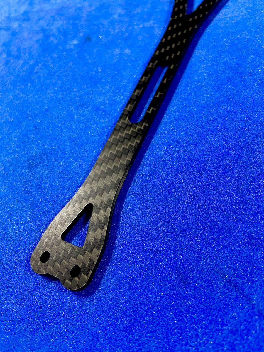 ヨコモ YD-2 カーボン製アッパーデッキ シリーズ共通 特注綾織2.5㎜ 艶消し 新品 送料込み 蕨山Carbon