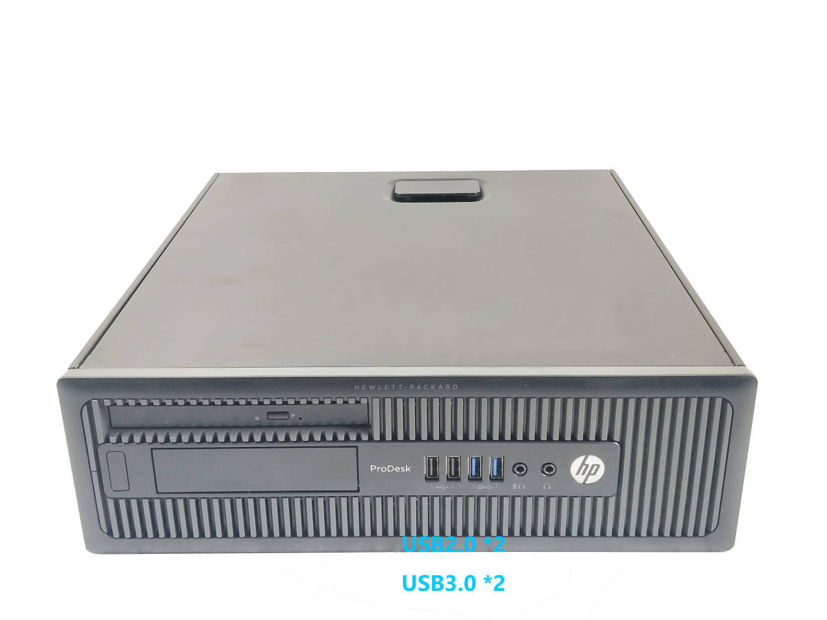 ■驚速 究極PC HP i5-4590 3.7G x4/メモリ8GB■新SSD:240GB+大容量HDD:1TB Win10 Pro Office2019/USB3.0/追加 無線■ProDesk 600 SFF.G1-2_画像3