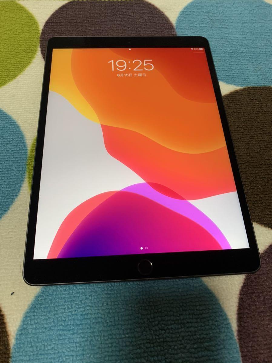 美品 アップルストアセルラー版 iPad Air3(最新モデル)256GB スペースグレー _画像3