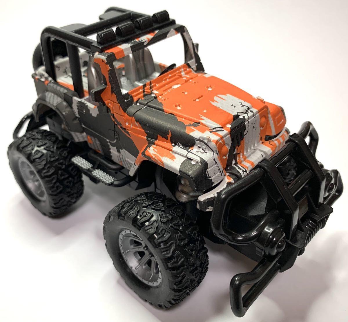 大人気 SUV シリーズRC ROCK OFF-ROAD CAR ラジコン ロック オフロードカー ジープタイプ オレンジホワイト