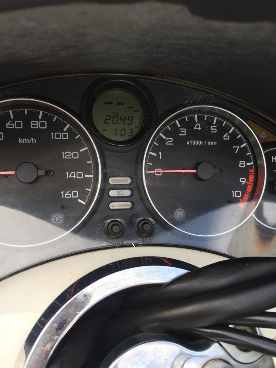 ▲6663▲ホンダ フォルツァ X ホワイト MF08 部品取り車 愛知_画像10