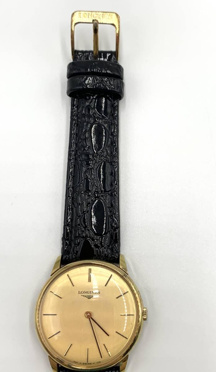 LONGINES ロンジン 手巻き アンティーク 腕時計_画像5