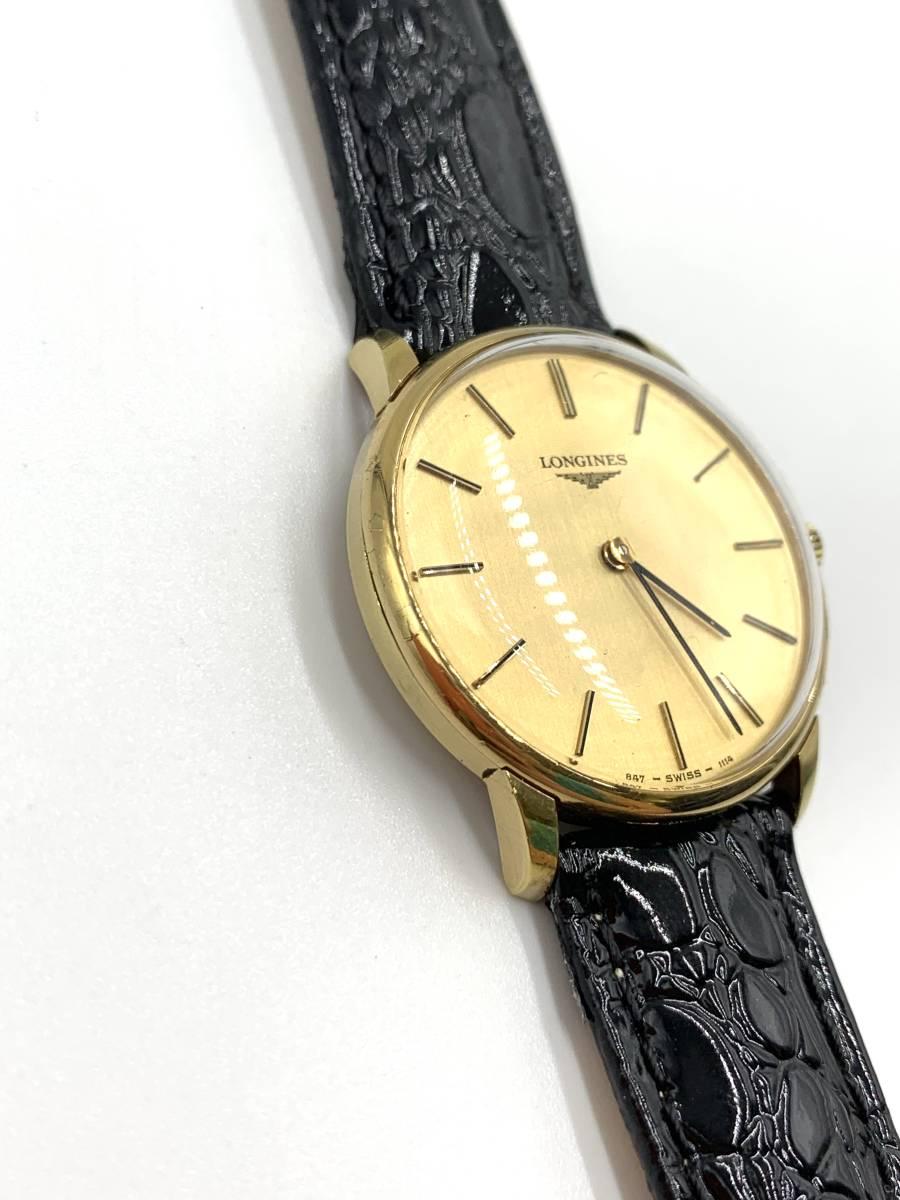 LONGINES ロンジン 手巻き アンティーク 腕時計_画像3