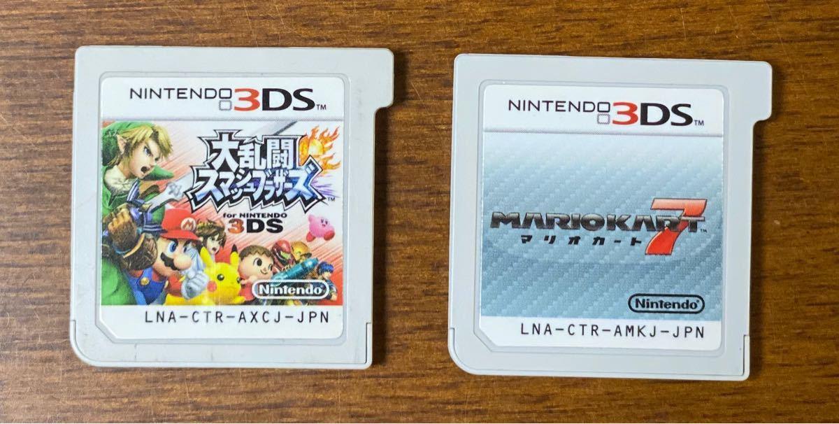 大乱闘スマッシュブラザーズ マリオカート7 2本セット 3DS