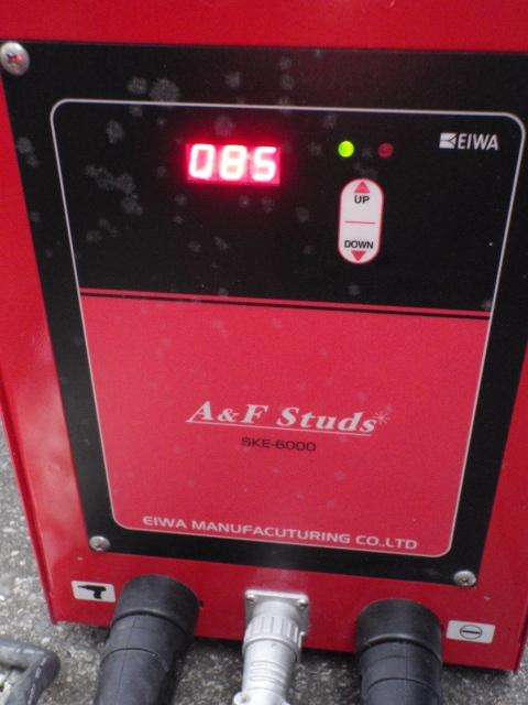 スタッド溶接機 栄和製作所 SKE6000 単相200V_画像8